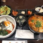 99130456 - ビビンパ&カルビ麺セット