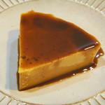 cafe キャトル - 料理写真:濃厚カスタードプリン