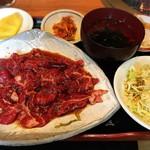 洙苑 - 焼肉定食 肉&ご飯大盛り