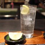 焼肉マル瓦どん2 - 生レモンサワー
