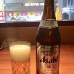 99133384 - 「アサヒスーパードライ中瓶」700円(税別)
