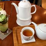 日本茶専門店 茶倉 - 茶倉 SAKURA 特製 カフェスィーツ・日本茶付き