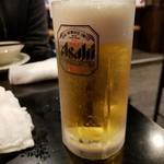 99136252 - ビールで乾杯☆