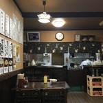 まるしん食堂 - 一部店内