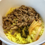 99140388 - 限定「麻婆豆腐咖喱~kiwami~弁当+魯肉」850円