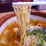 らーめん 田中商店 - 一柳製麺の麺
