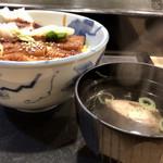 量平寿司 - 穴子丼とお吸い物