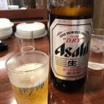 餃子の王将 - 瓶ビール(大瓶)2018.12.25