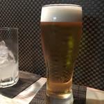 明ごころ本店 洋食店 - 生ビール400円
