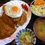 さくらんぼ - 料理写真:カツカレーセット
