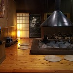 湯布院温泉 御宿 由布乃庄 - デザートはこちらの暖炉へ移動していただきました♡(食事処と選べる)