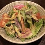 穴子家 NORESORE - 前菜 サラダ仕立て