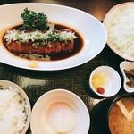 99156737 - 味噌ヒレカツ定食