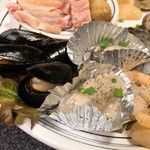 焼肉ばんばん - 海鮮セットアップ