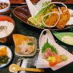 若駒白雲閣 - 料理写真:カキフライ御膳
