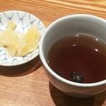 天丼 金子屋 - 豆茶