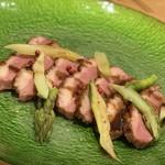 Shimanamifurenchimurakami - ◆鴨のローストグロゼイユ赤スグリのソース