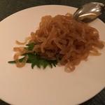 中国料理 「王朝」 - くらげの冷菜