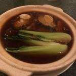中国料理 「王朝」 - 鮑姿オイスターソース煮込み