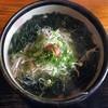 くら川 - 料理写真:梅の香うどん