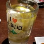 海さくら - 凍結レモンサワー 590円