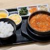 東京純豆腐 - 料理写真:チーズタッカルビスンドゥブ(5辛)