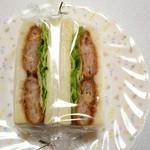 シエルブルー - 料理写真:エビカツサンド