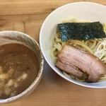 麺処 有彩 - 豚骨鶏魚介つけめん(作り直し)