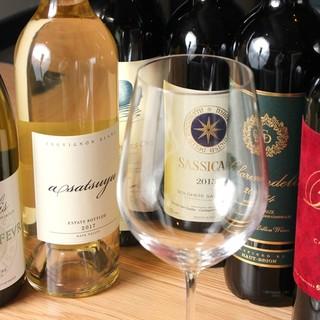 充実なワイン