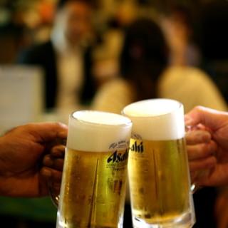 18:00まで1杯300円◆夏の生ビールフェア実施中!