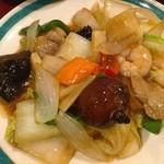 99167311 - 八宝菜定食(700円)