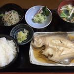 みょうがや - かれい煮付 ¥1,100