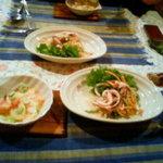 裏磐梯五色沼森の家ペンション木まま - 料理写真:前菜