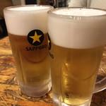 名古屋コーチン 個室居酒屋 肉の飛騨屋 - 生ビール