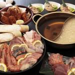 出汁鍋&海鮮の店 門戸 - うにの出汁で召し上がる海鮮は格別!