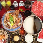 出汁鍋&海鮮の店 門戸 - ズワイガニ、タラバガニ、黒毛和牛、その他豪華海鮮も食べ放題!