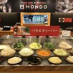 出汁鍋&海鮮の店 門戸 - お野菜10種類以上、麺類2種、台湾のB級グルメのルーローハン、キムチなどが食べ放題!