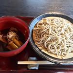 十割蕎麦 温川 - 料理写真:鴨南蛮盛りそば 1470円