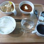 ホテルアルファーワン - 料理写真:1日目の朝食