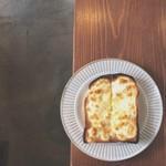 雨音珈琲 - チーズトースト