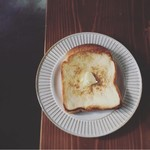 雨音珈琲 - バタートースト