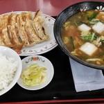 餃子の王将 - 料理写真:スタミナラーメンセット