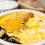 99179251 - チキンと秋ナスのオーブン焼き パンプキンチーズソース