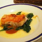 99179459 - 本日の白身魚のポワレ ウィートワインソース