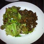9918810 - レンズ豆の温かいサラダ