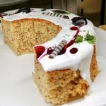 サロンドスイーツ - ブルーベリーのアールグレイシフォンケーキ