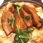 9919585 - ランチ 豚肉の角煮定食 アップ