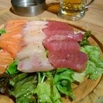 99190118 - 名物❗鮮魚のスモークカルパッチョ