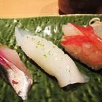 寿司栄 華やぎ - イカ。