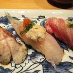 寿司栄 華やぎ - カワハギ。